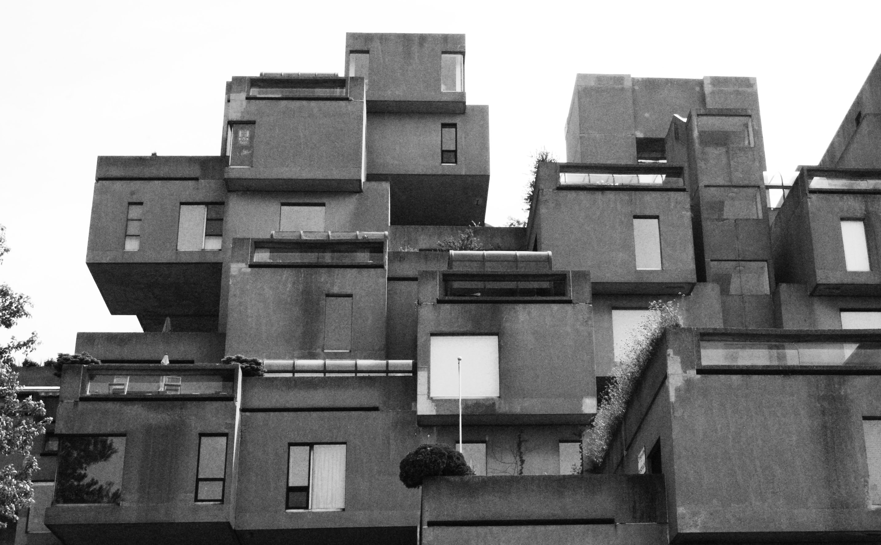 Point architecture l 39 habitat 67 andycurly compagnie for Habitat 67 architecture